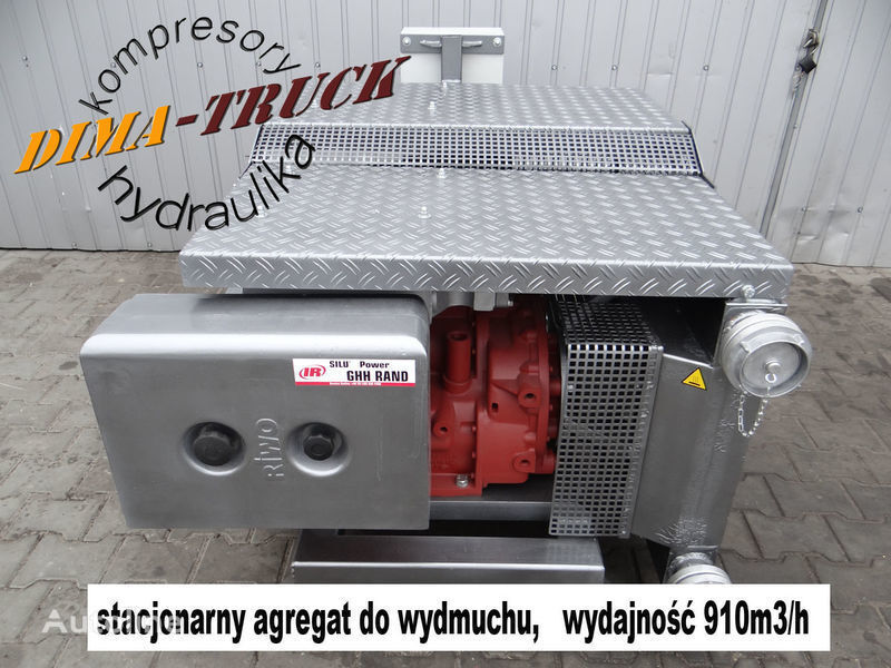 новый пневмокомпрессор CS80 agregat elektryczny для грузовика Agregat elektryczny GHH CS80