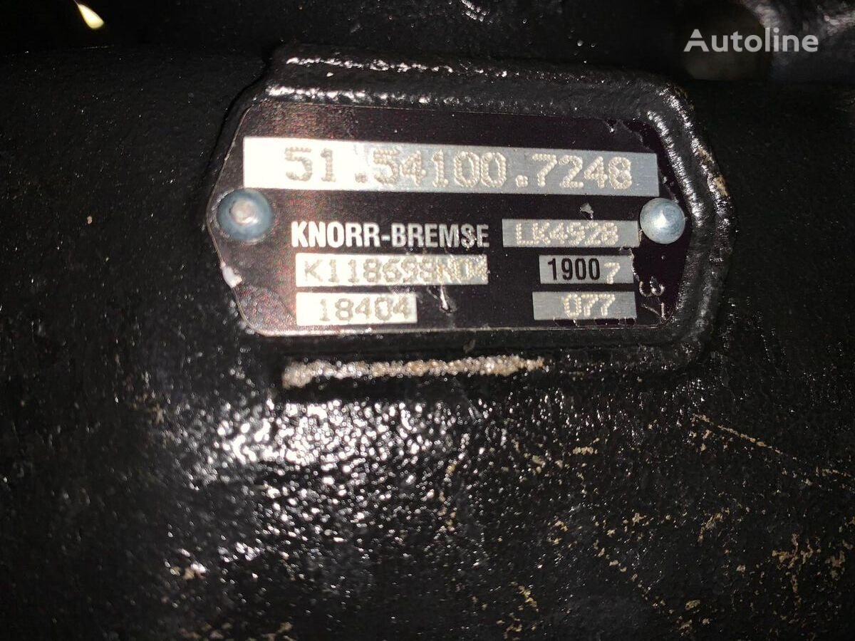 новый пневмокомпрессор KNORR-BREMSE (LK4928, K118698) для тягача MAN EURO 6