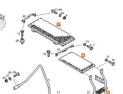 подножка Estribo Puerta Izquierda Iveco Stralis AS 440S50, AT 440S50 (41030500) для тягача IVECO Stralis AS 440S50, AT 440S50