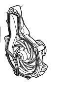 помпа охлаждения двигателя Coolant Pump для тягача VOLVO FM/FH (2005-2012)