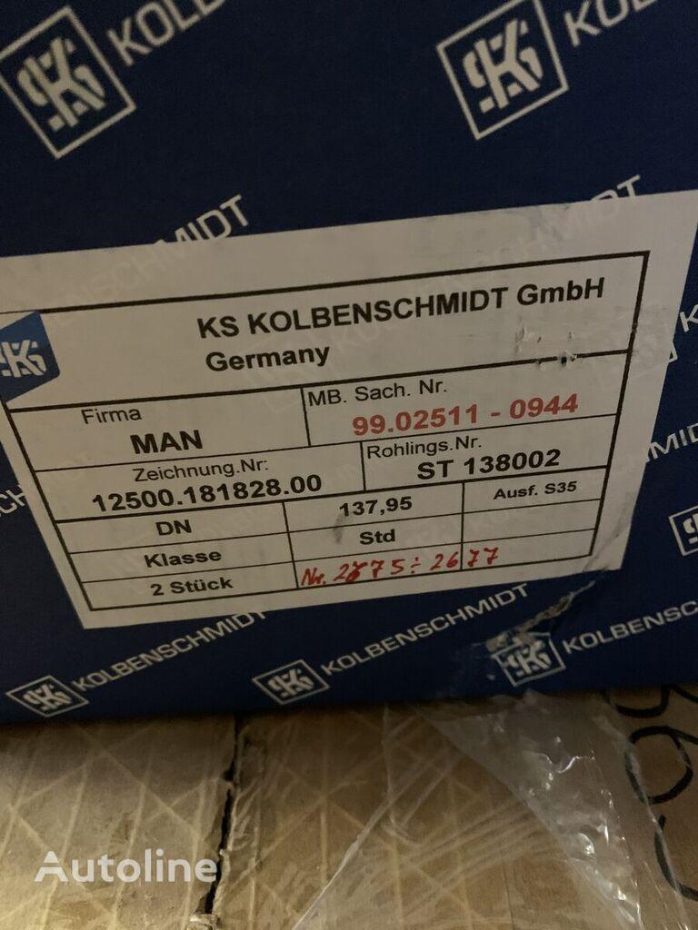 новый поршень KOLBENSCHMIDT D 38 (51025110944) для тягача MAN