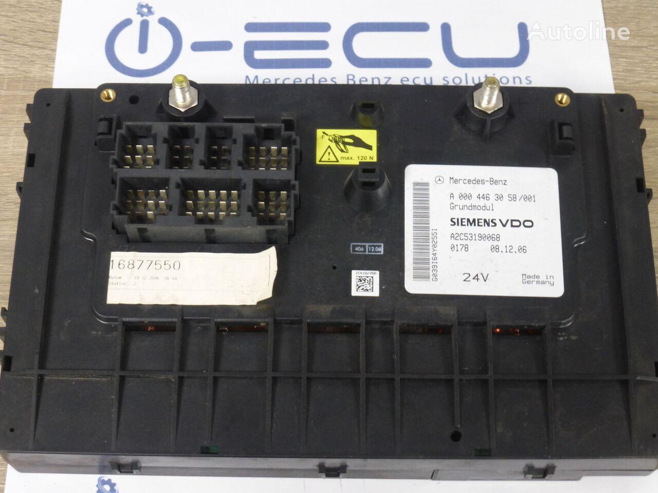 предохранительная коробка GM ACTROS Α 0004463058 (GM A 0004463058) для грузовика MERCEDES-BENZ ACTROS