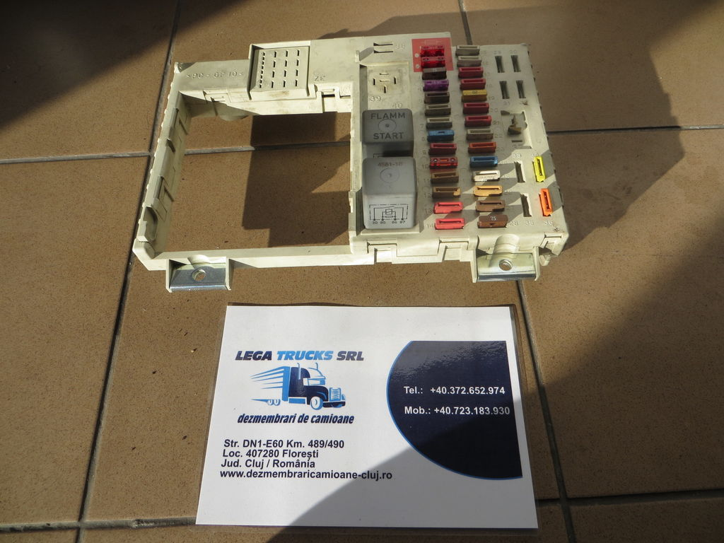предохранительная коробка MAN Tablou Siguranta для тягача MAN TGA / TGX