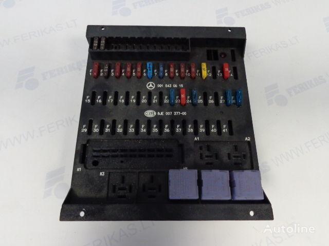предохранительная коробка MERCEDES-BENZ protection fuse box 0015430615,0015433115,8JE007377-01,8JE007377 для тягача MERCEDES-BENZ