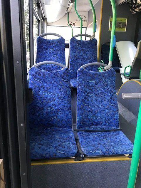 сиденье для автобуса TEMSA avenue