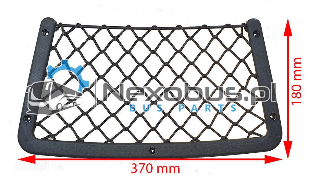 новое сиденье Siatka na siedzenie czarna Net seat black 370x180mm для автобуса