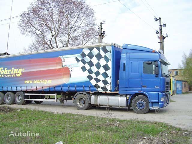 новый солнцезащитный козырек DAF для грузовика DAF XF95