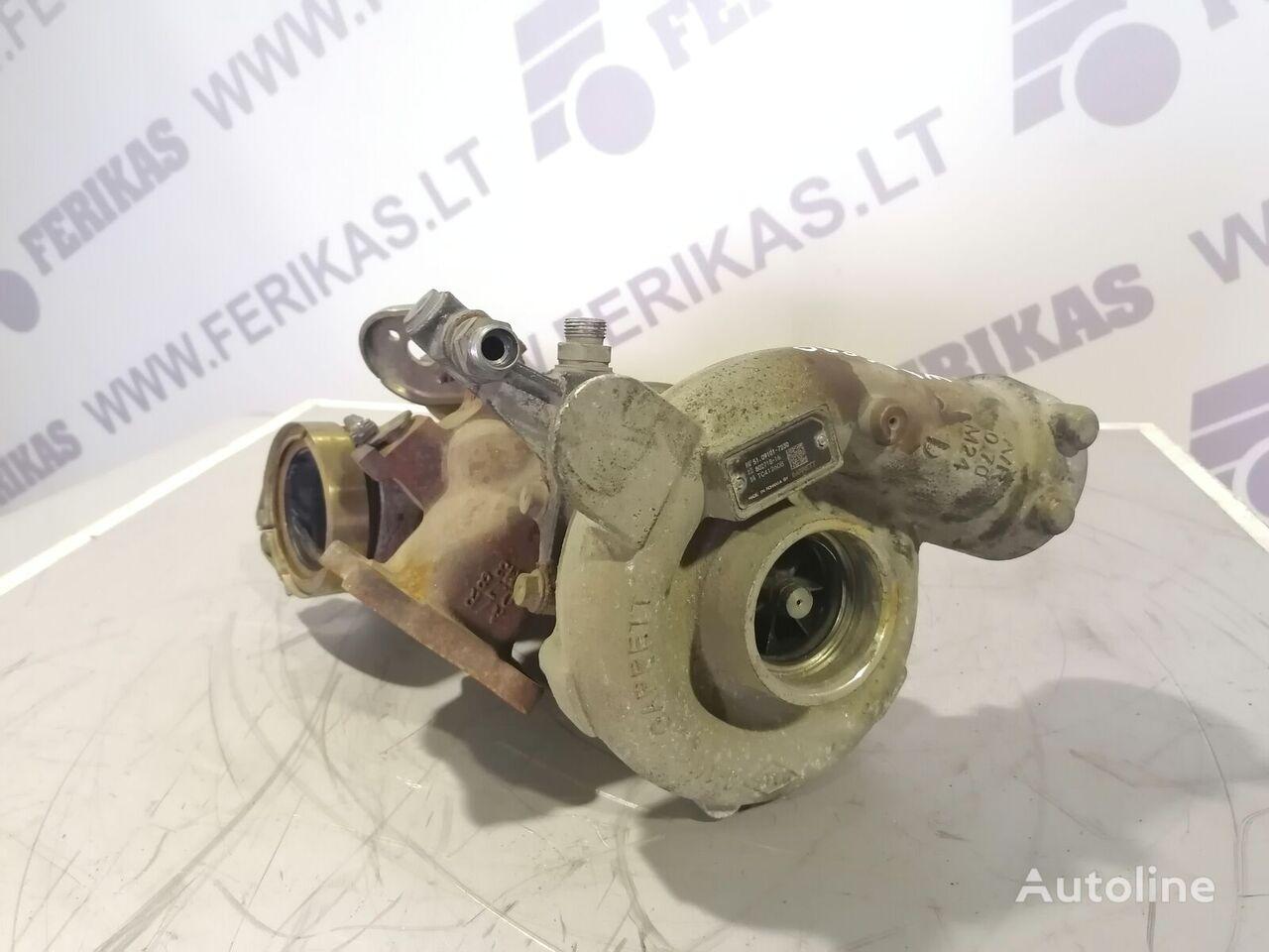 турбокомпрессор двигателя для тягача MAN TGX