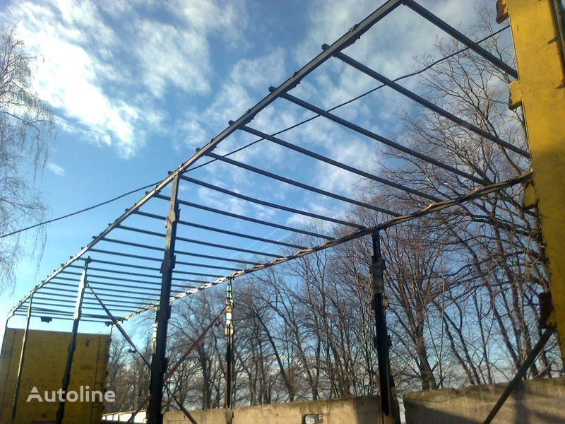запчасти Здвижная крыша для полуприцепа