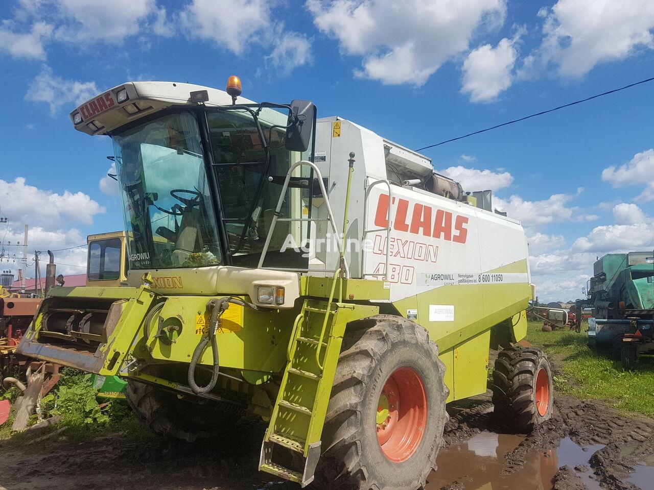 запчасти для зерноуборочного комбайна CLAAS LEXION 480