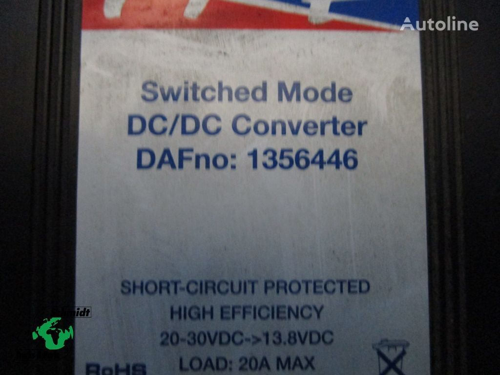 запчасти 1356446 Converter DAF для грузовика DAF